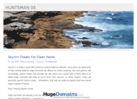 huntsman08.com