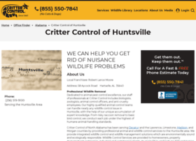 huntsville.crittercontrol.com