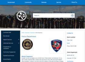 huntsvillepolice.com