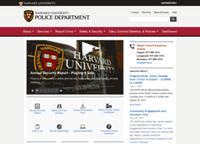 hupd.harvard.edu