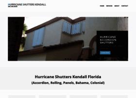 hurricaneshutterskendall.com