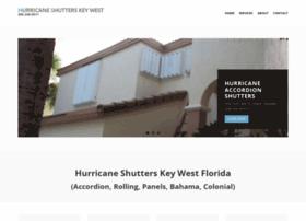 hurricaneshutterskeywest.com