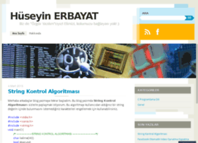 huseyinerbayat.wordpress.com