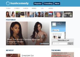 hushcomedy.com