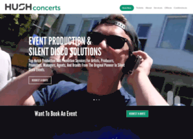hushconcerts.ticketfly.com