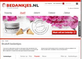 huwelijksbedankjes.nl