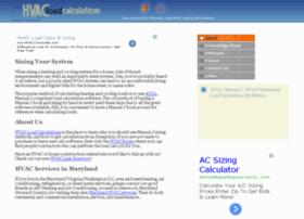 hvacloadcalculations.com