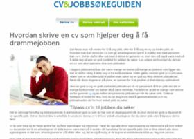 hvordanskrivecv.org
