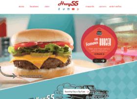 hwy55burgers.com