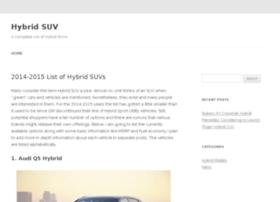hybrid-suv.net