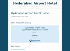 hyderabadairporthotel.com