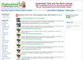 hyderabadcityrentals.com