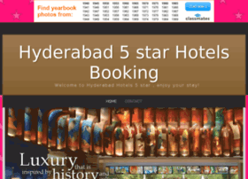 hyderabadhotels5star.bravesites.com