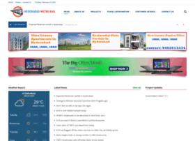 hyderabadmetrorail.com