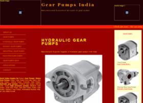 hydraulicgearpump.gearpumpsindia.com