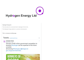 hydrogenenergy.co.uk