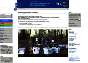 hydrology.uni-freiburg.de
