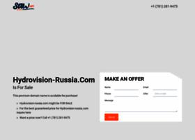 hydrovision-russia.com