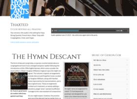 hymndescants.org