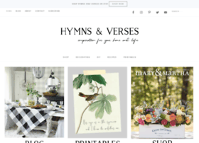 hymnsandverses.com