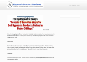 hypnosis-product-reviews.com