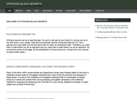hypnosisblacksecrets.com