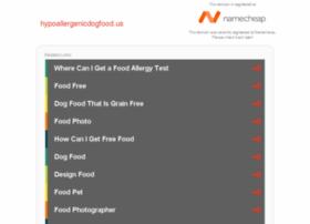 hypoallergenicdogfood.us