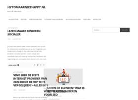 hypomaarniethappy.nl