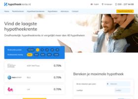 hypotheekrente.nl