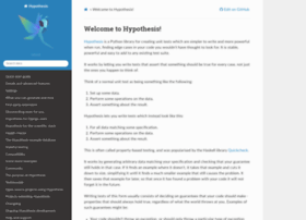 hypothesis.readthedocs.org