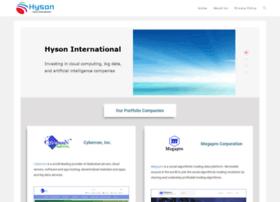 hyson.com