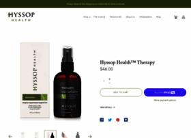 hyssophealth.com