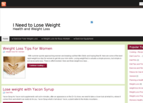 i-need-to-lose-weight.co.uk