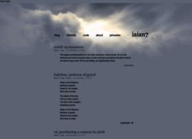 iaian7.com