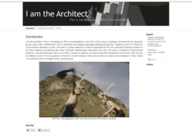 iamthearchitect2012.wordpress.com