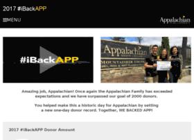 ibackapp.appstate.edu