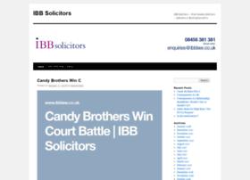 ibbsolicitors.wordpress.com
