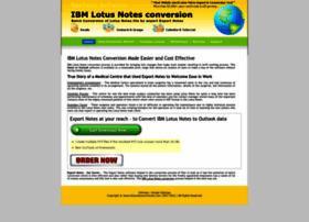 ibm.lotusnotesconversion.com