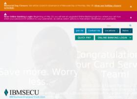 ibmsecu.com