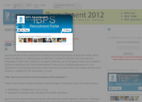 ibpsrecruitment2012.in