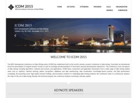icdm2015.stonybrook.edu