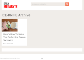 ice-knife.dailymegabyte.com