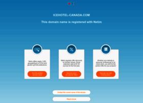Icehotel-canada.com