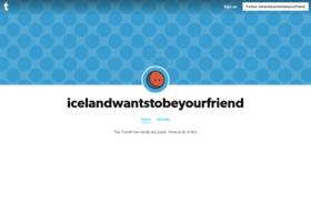 icelandwantstobeyourfriend.tumblr.com