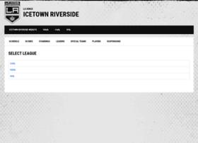 icetownriverside.hockeyshift.com
