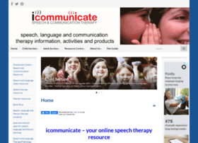 icommunicatetherapy.com