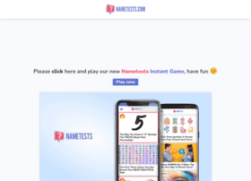 id.nametests.com