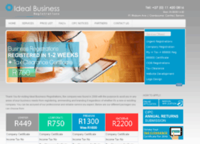 idealbusinessregistrations.co.za