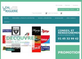 idealdroguerie.com