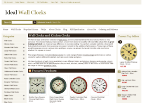 idealwallclocks.co.uk